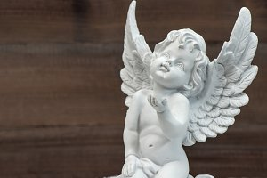 Guardian angel. Christmas decoration