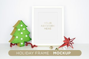 Holiday Frame Mockup A01