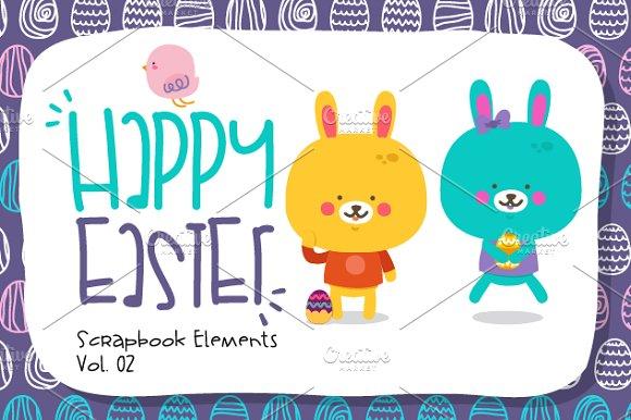 Happy Easter-Scrapbook Elements.Vol2 - Patterns