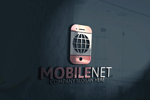 Mobile Net Logo