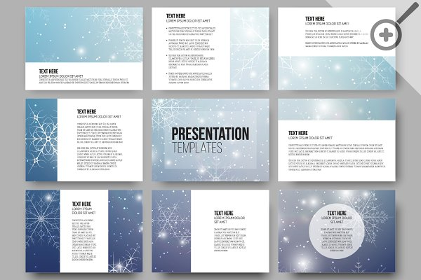Xmas templates for presentations