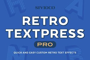 Retro Textpress Pro – AI Actions