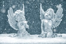 Little guardian angels. Christmas
