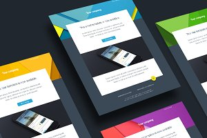 Simple material Sketch mail template