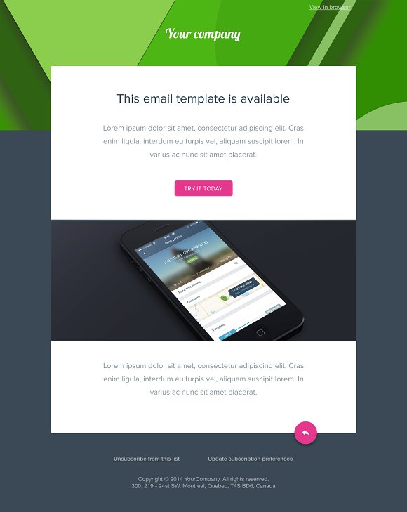 Simple Material Sketch Mail Template Email Templates Creative Market - Google design templates