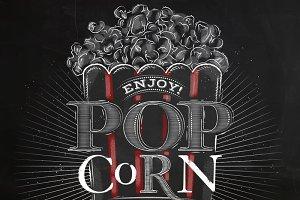 Popcorn menu