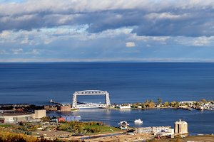 Duluth Lift Bridge and Park Point