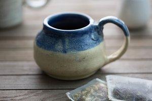 Tea Time Handmade Pottery Mugs