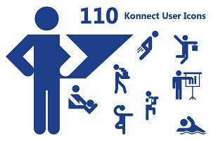 110 Konnect User Icons
