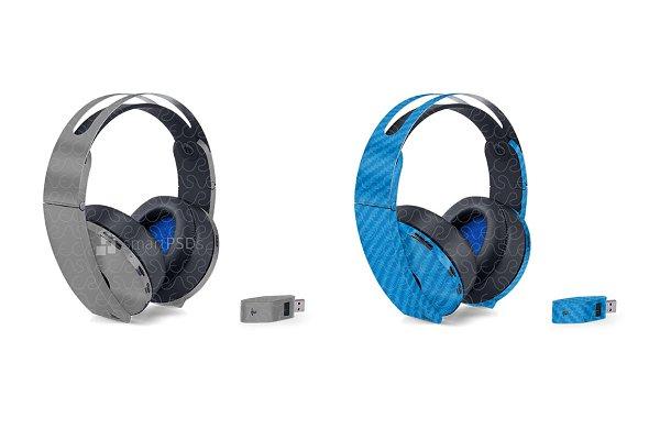 Sony Ps4 Platinum Wireless Headset Creative Photoshop Templates Creative Market