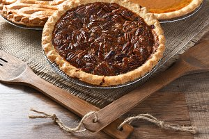 Fresh Baked Pecan Pie
