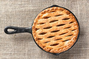 Apple Pie in Skillet