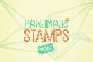48 Handmade Stamp Brushes
