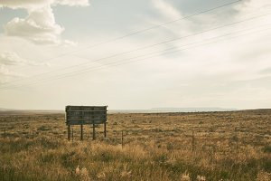 Billboard, New Mexico