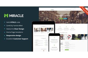 Miracle - Multi-Purpose Template