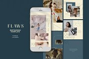 Flaws Instagram Templates