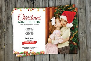 Christmas Mini Session Template-V113