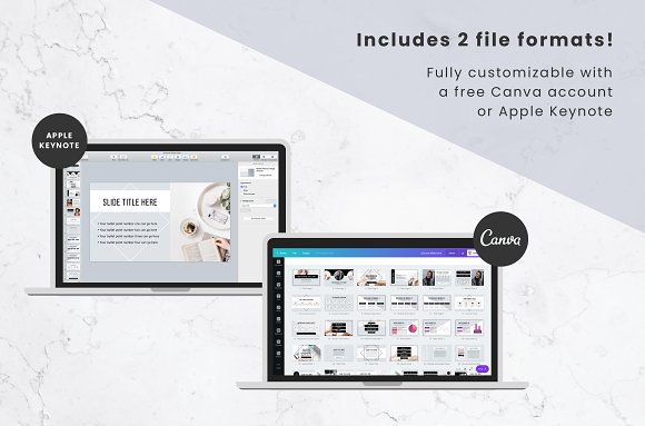 eCourse Slide Deck Template in Keynote Templates - product preview 3