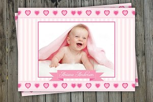 Birth Announcement Template-V01