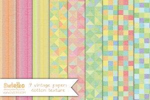 Vintage Paper, Linen Texture