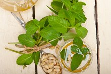 Arab middle east mint tea and pine nuts 012.jpg