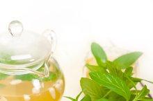 Arab middle east mint tea and pine nuts 007.jpg