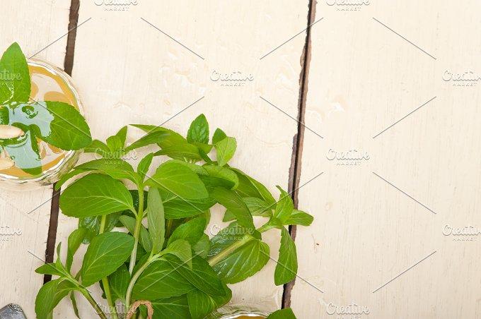 Arab middle east mint tea and pine nuts 036.jpg - Food & Drink