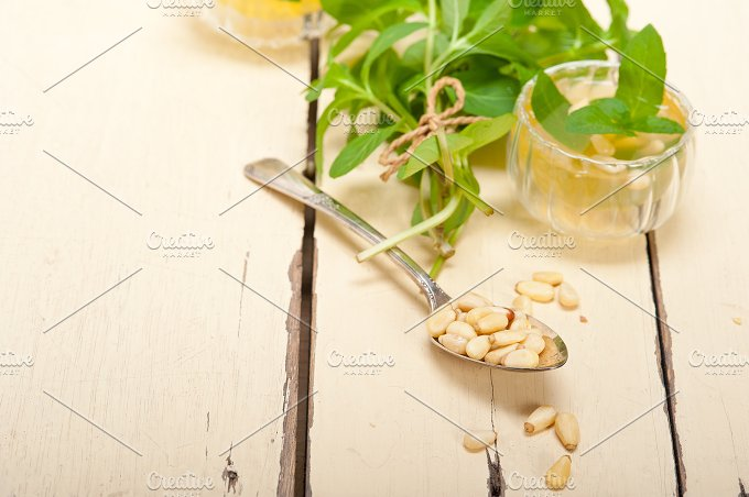 Arab middle east mint tea and pine nuts 034.jpg - Food & Drink