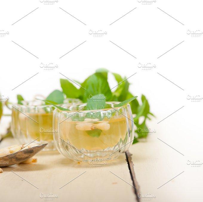 Arab Moroccan middle east mint tea and pine nuts 003.jpg - Food & Drink