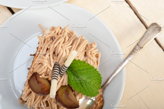 chestnut cream cake dessert 009.jpg - Food & Drink