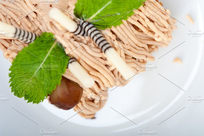chestnut cream cake dessert 011.jpg - Food & Drink