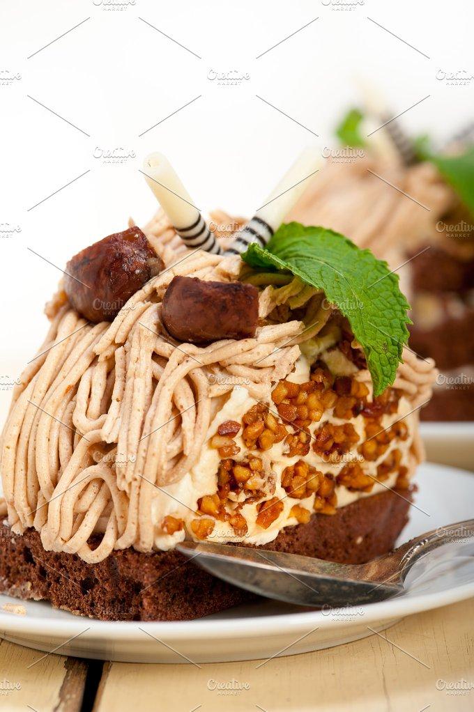 chestnut cream cake dessert 018.jpg - Food & Drink