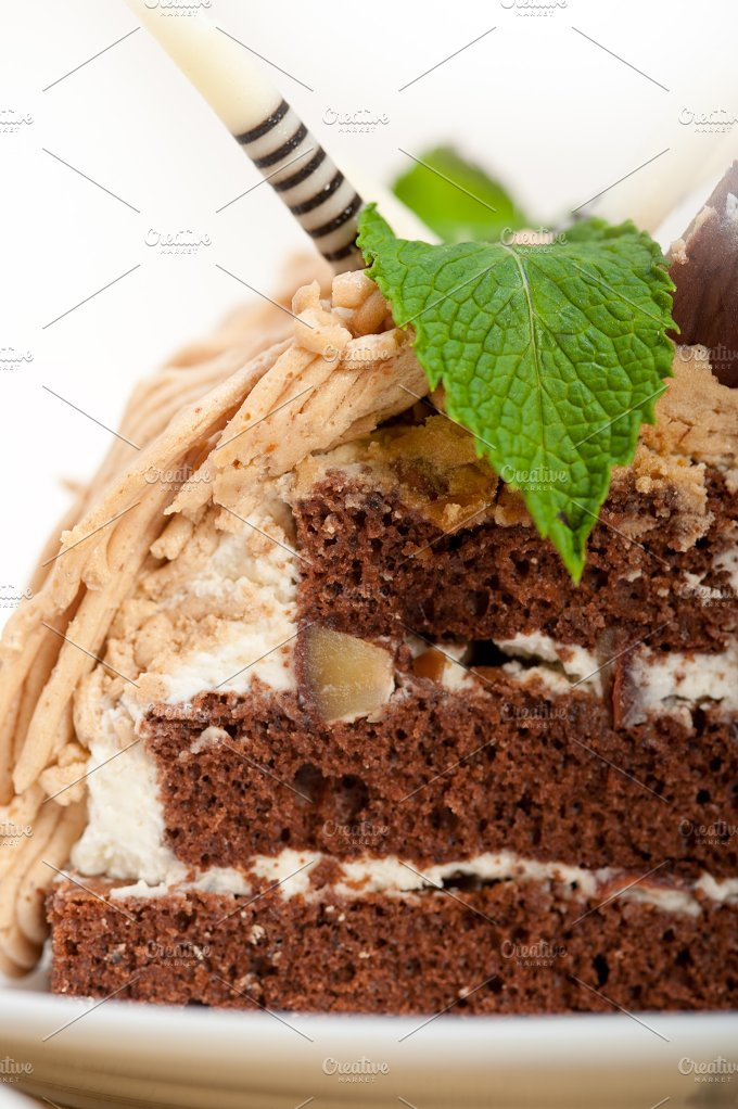 chestnut cream cake dessert 025.jpg - Food & Drink