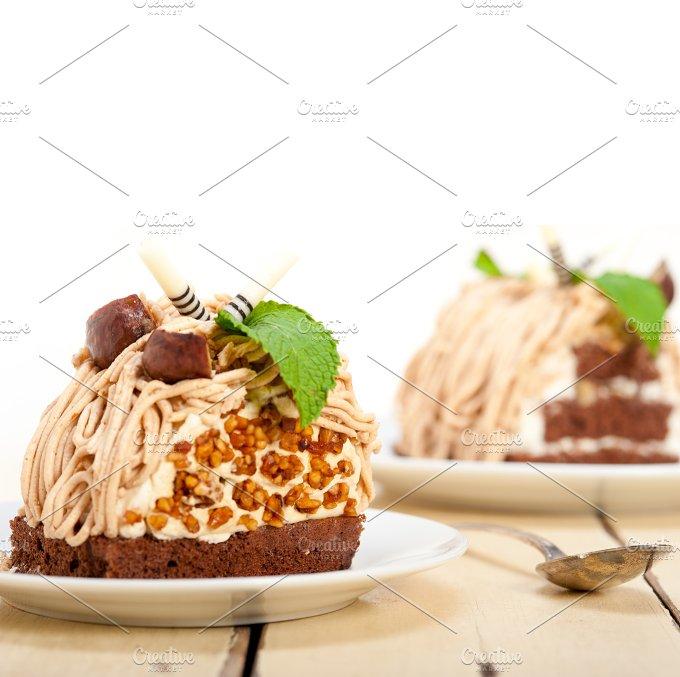 chestnut cream cake dessert 031.jpg - Food & Drink