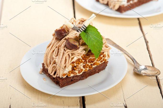 chestnut cream cake dessert 030.jpg - Food & Drink