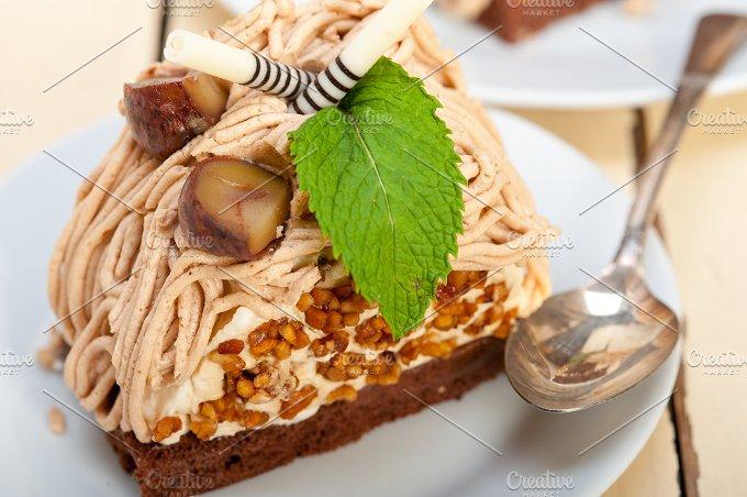 chestnut cream cake dessert 044.jpg - Food & Drink