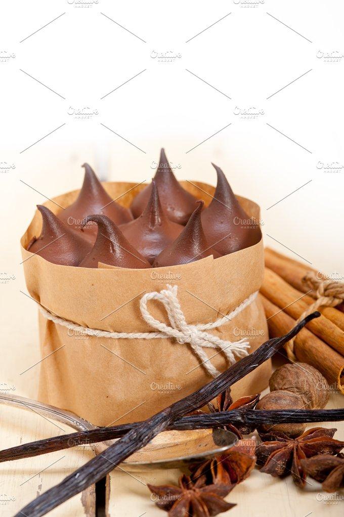chocolate and spice cream cake dessert 003.jpg - Food & Drink