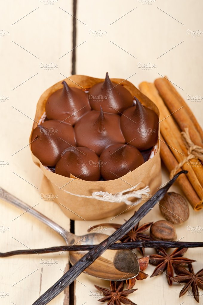 chocolate and spice cream cake dessert 006.jpg - Food & Drink