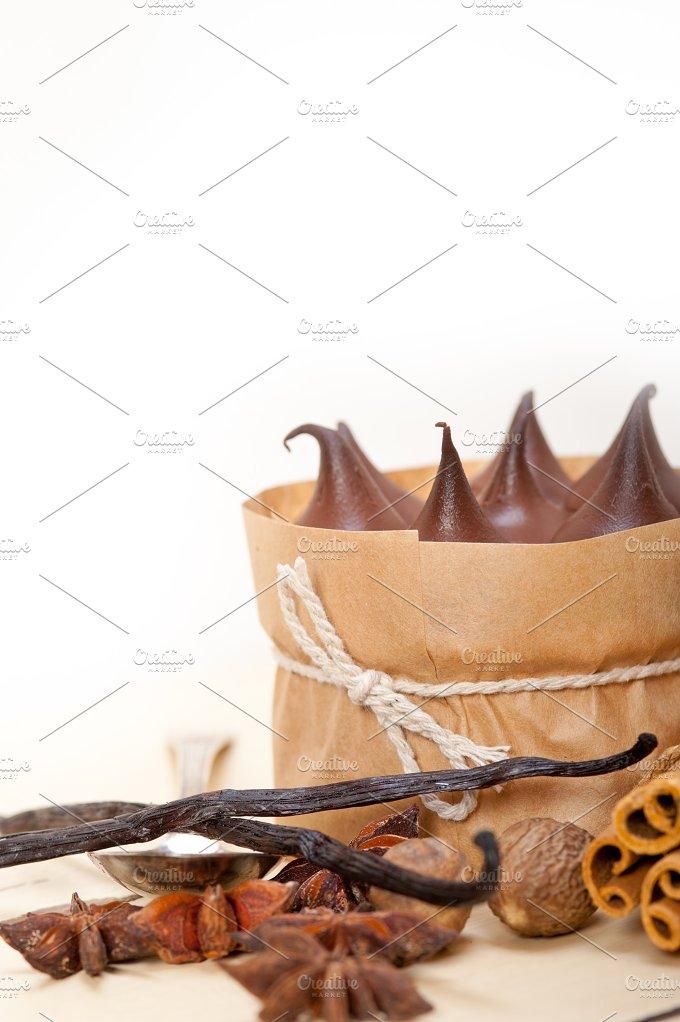 chocolate and spice cream cake dessert 019.jpg - Food & Drink