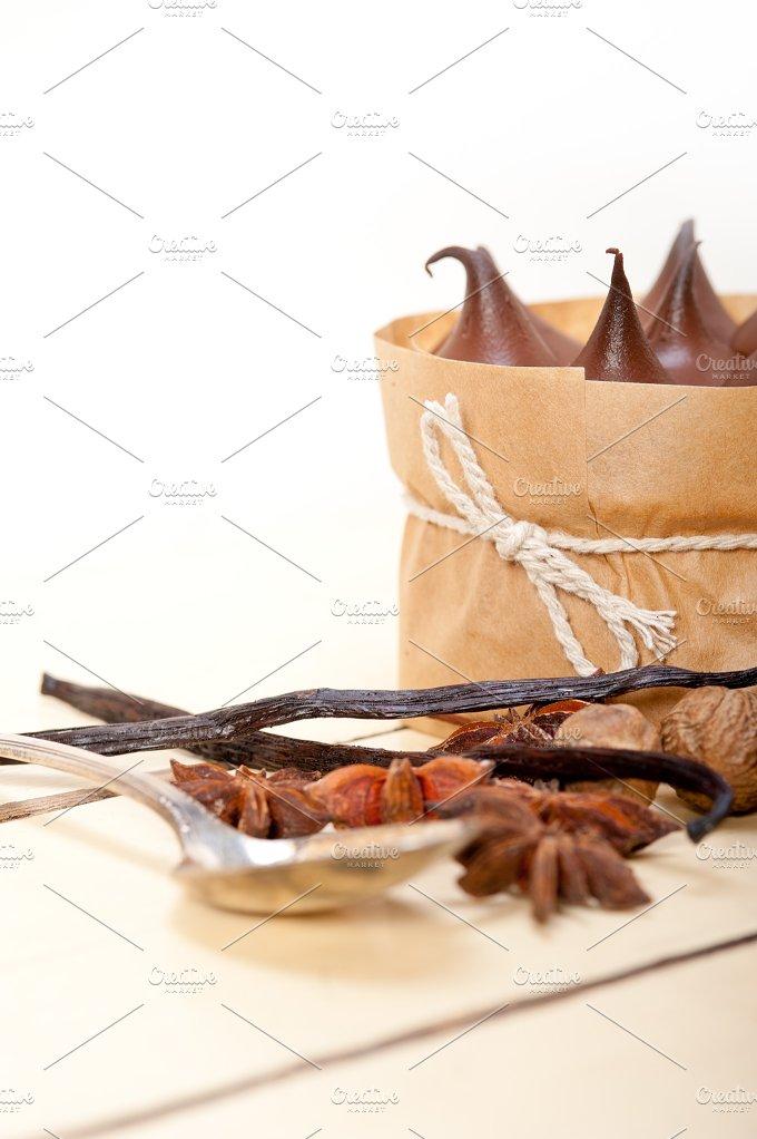 chocolate and spice cream cake dessert 022.jpg - Food & Drink