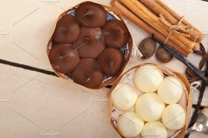 chocolate vanilla and spice cream cake dessert 011.jpg - Food & Drink