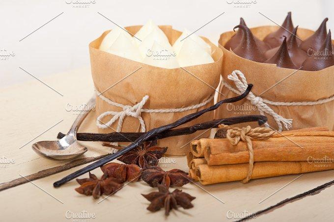 chocolate vanilla and spice cream cake dessert 014.jpg - Food & Drink