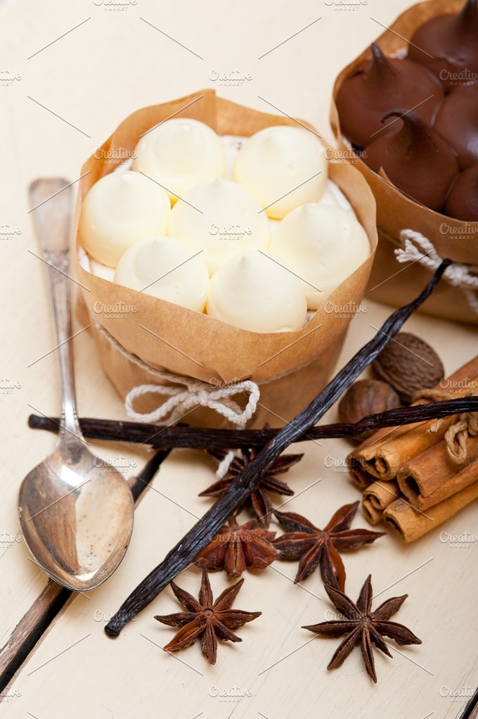 chocolate vanilla and spice cream cake dessert 019.jpg - Food & Drink