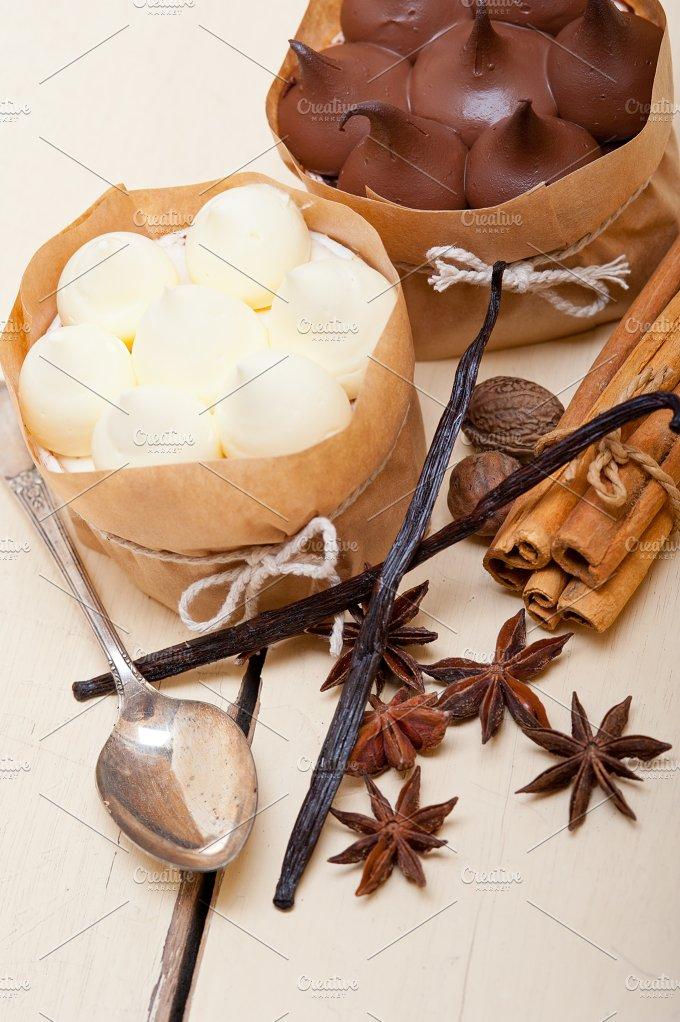 chocolate vanilla and spice cream cake dessert 020.jpg - Food & Drink