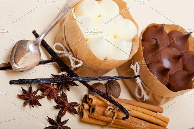 chocolate vanilla and spice cream cake dessert 021.jpg - Food & Drink