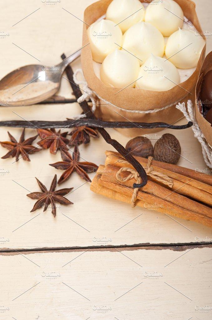 chocolate vanilla and spice cream cake dessert 027.jpg - Food & Drink