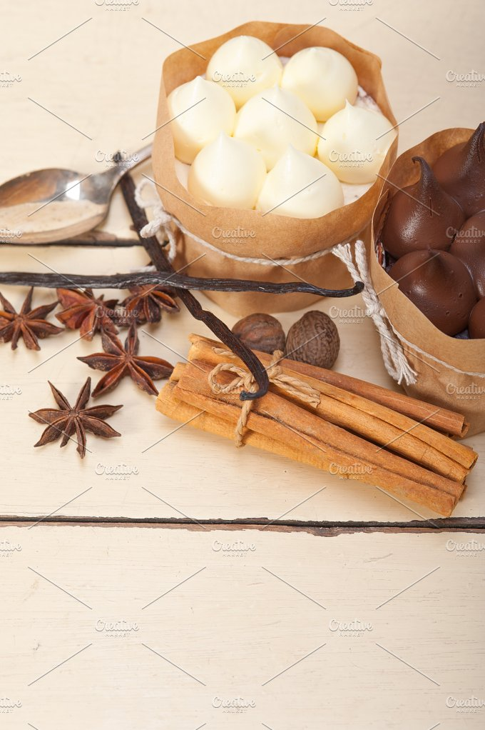 chocolate vanilla and spice cream cake dessert 029.jpg - Food & Drink