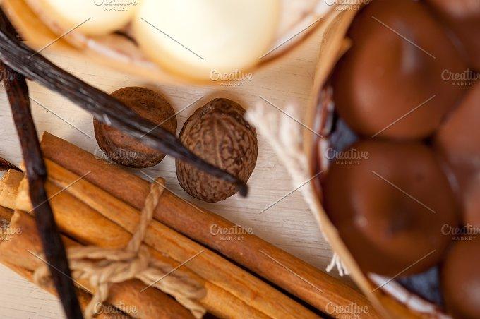 chocolate vanilla and spice cream cake dessert 038.jpg - Food & Drink