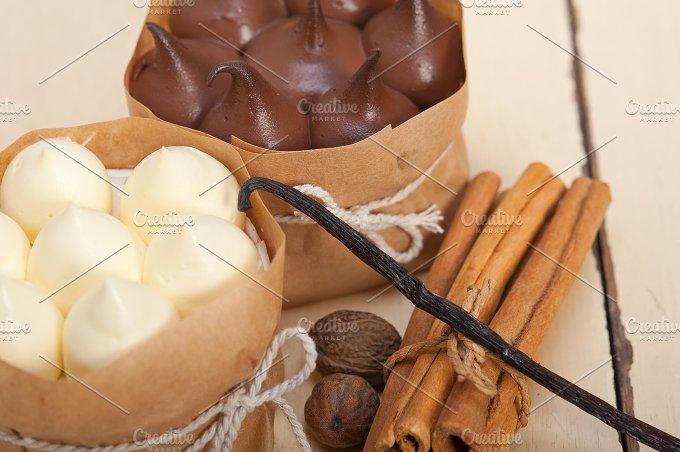 chocolate vanilla and spice cream cake dessert 053.jpg - Food & Drink