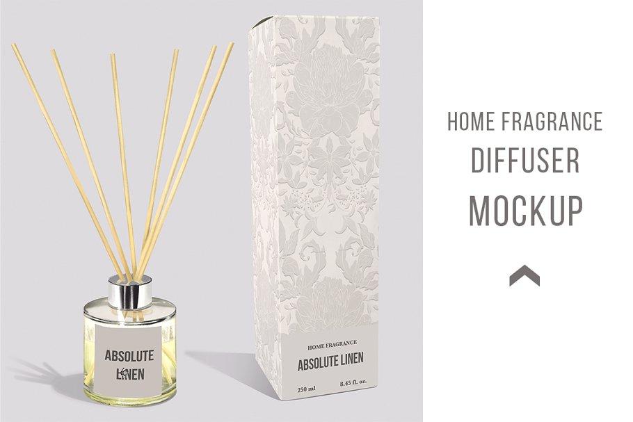 Diffuser home fragrance Mockup